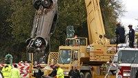 Off-duty Texas deputy dies when car goes into sinkhole