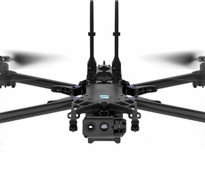 A Skydio drone.
