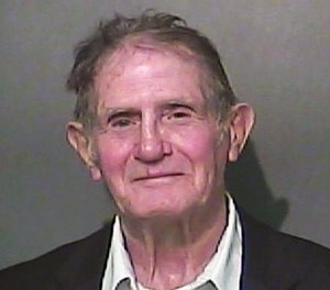 This undated photo provided by the Vigo County Sheriff's Office in Terre Haute, Ind., shows Claude Hudson, of Terre Haute. (Vigo County Sheriff's Office via AP)