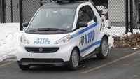 NYPD testing out Smart Cars