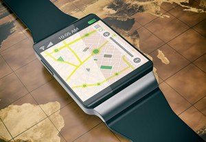 GPS on a smartwatch is just one innovation that connects officers to mission-critical data.