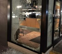 Some rioters smash storefronts during Portland march