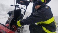 Fire chief: 'Please don't stick your hand in a snowblower'