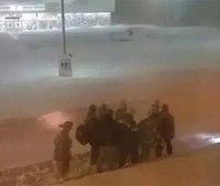 Hero of the Week: Responders carry patient in snow