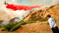 Scorching heat, wildfires bake US West over holiday weekend