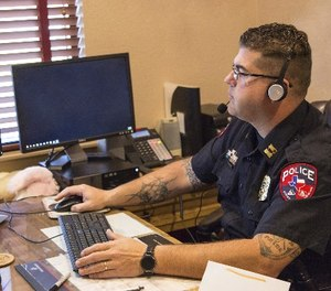 Personal computers have had speech recognition applications available for well over 20 years, but they were mostly not ready for prime time. (Photo/PoliceOne)