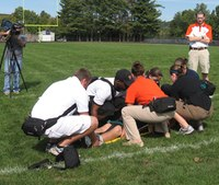 Athletic trainers and EMS collaboration is best for injured athletes