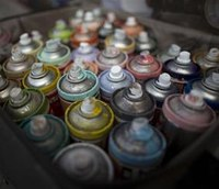 NYPD to carry spray paint to battle graffiti