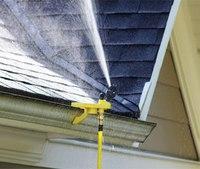 Wildland firefighter invents exterior sprinkler system