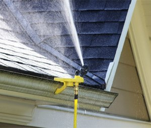 One of the smartest ways to help protect your home is to keep the roof and surrounding area wet.