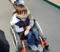 How an SRO is helping give a little boy the strength to walk