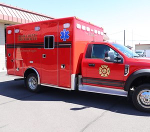 Two new ambulances, complete with updated safety measures, are a