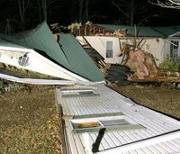 5 killed by severe storms in Ala., Tenn.