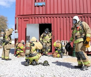 Career and volunteer fire chiefs attribute their staffing problems to different sources.