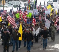 Militia members occupy US building in Ore. after protest