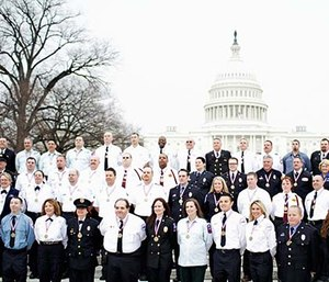 2015 Stars of Life class on the steps of the U.S. Capitol