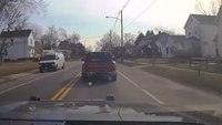 Video: Ohio LEO deploys StarChase tool to prevent high speed pursuit