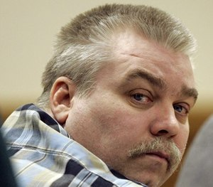 In this March 13, 2007 file photo, Steven Avery listens to testimony in the courtroom at the Calumet County Courthouse in Chilton, Wis.