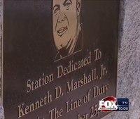 Mass. fire station named after fallen firefighter