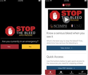 "A new app was released to teach civilians how to ""Stop the Bleed"" and save lives in case of an emergency. (Photo/Stop the Bleed)"