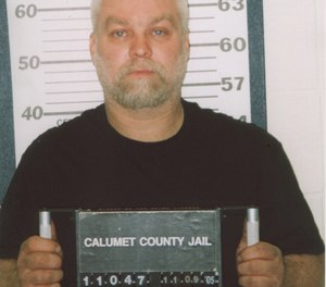 Steven Avery's mugshot, as shown in the documentary