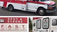 EMS agency debuts stroke PSA on ambulance