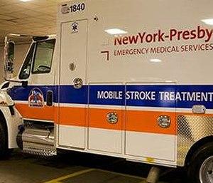 The Mobile Stroke Treatment Unit.