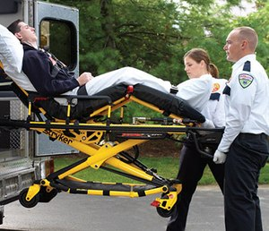 Powered patient transport equipment can reduce the frequency of on-the-job injuries that commonly occur among EMS providers.
