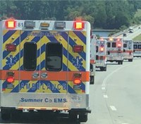 Photo of the Week: Ambulance Strike Teams deploy ahead of Hurricane Dorian