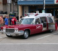 Photo of the Week: 1970 Cadillac Superior Ambulance