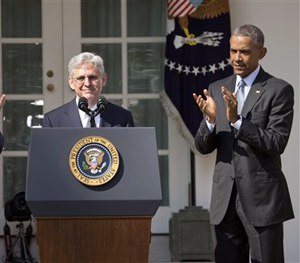 Federal appeals court judge Merrick Garland has been nominated for the Supreme Court by President Barack Obama. (AP Image)