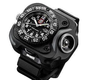2211 Luminox variable-output rechargeable light watch.