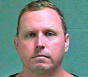 Oklahoma City police Sgt. Keith Sweeney was sentenced in the killing of Dustin Pigeon in November 2017. (Photo/Oklahoma County Sheriff's Office)