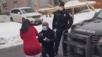 Video: Man enlists cop's help in marriage proposal stunt