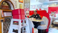 Waitress thanks police officers for saving her life