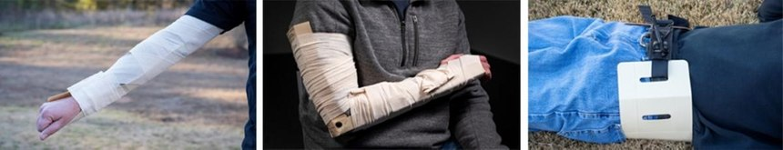 Engineered for professional first responders to be the most rugged, low-profile rigid splint for extremity fractures and pelvic binding in the prehospital environment. (Courtesy photo)