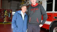 Tenn. man, dubbed 'Shorty,' named world's tallest firefighter by Guinness World Records