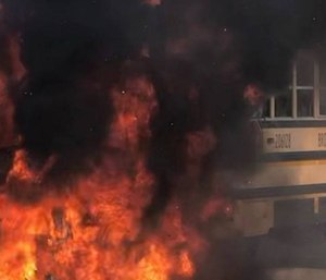 The Tamarac Fire Department responded to a school bus fire.