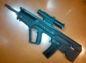 Tavor rifle by Israel Weapon Industries is probably one of the most highly anticipated rifles since the end of the assault weapons ban. (Source Israel Weapon Industries)