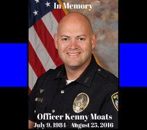Maryville Police Officer Kenny Moats (Photo/Maryville Police Facebook)