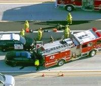 Federal agencies send teams to probe Tesla, fire truck crash