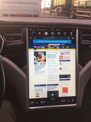 If Tesla takes off with police departments, P1 is ready.
