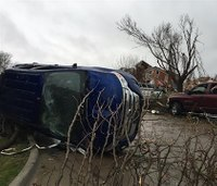 At least 11 die from Texas tornadoes; 5 in Illinois flooding