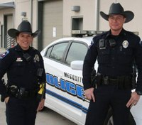 Texas cops don cowboy hats with uniforms
