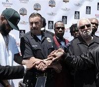 Few hundred attend rapper's gang summit in LA