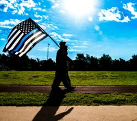 Colo. police chaplain allowed to fly thin blue line flag after HOA demands he remove it