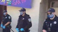 SF chief bans 'thin blue line' face masks