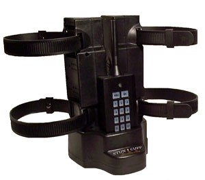 The Stun-Cuff wireless prisoner control device is used during prisoner transport. (Image Stun-Cuff)