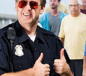Pictured: A cop who hasn't yet heard about the new changes admin is implementing.
