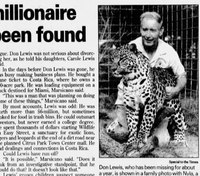 Fla. sheriff renews search for missing millionaire featured in 'Tiger King'